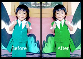 Mengganti Warna Dengan Replace Color